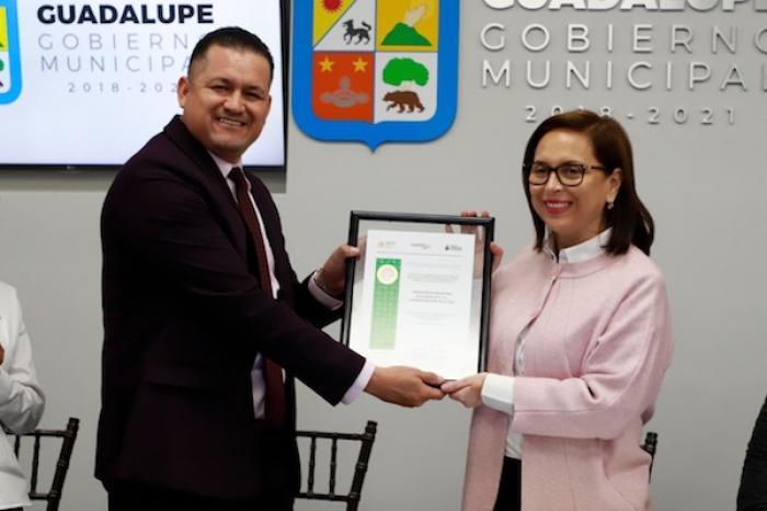 INEA Reconoce A Alcaldesa De Guadalupe