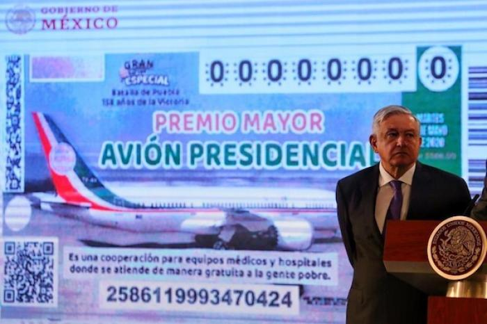 Confirmado:  avión presidencial se rifa el 15 de septiembre