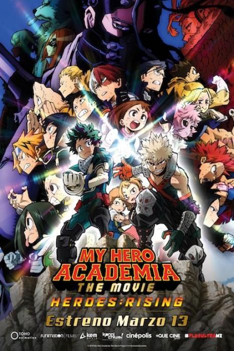 La película My Hero Academia: Hero