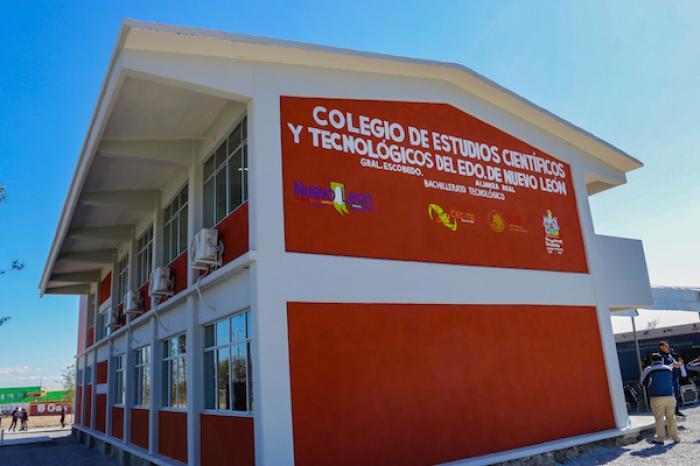 Ofrece Escobedo Más Opciones Educativas Con Plantel Del CECyTE En Alianza Real