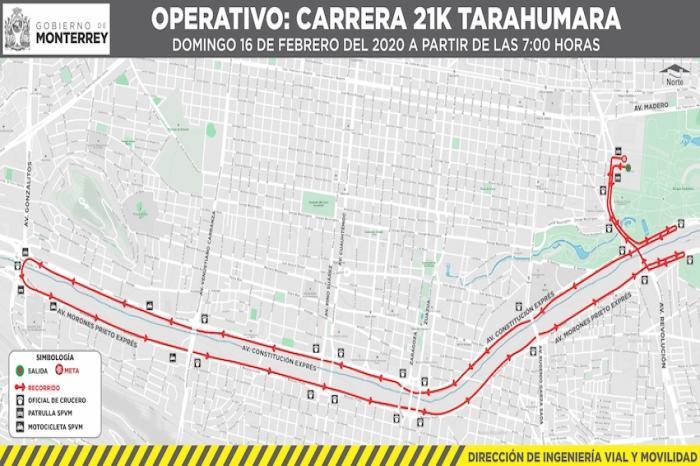 Extenderán mañana cierre de calles dominicales a la avenida Fundidora