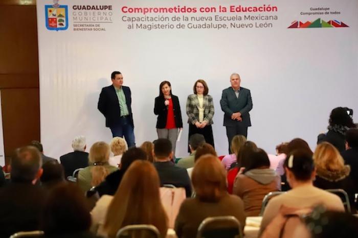 """Pide Cristina Díaz A Magisterio En Guadalupe Aprovechar Al Máximo La """"Nueva Escuela Mexicana"""