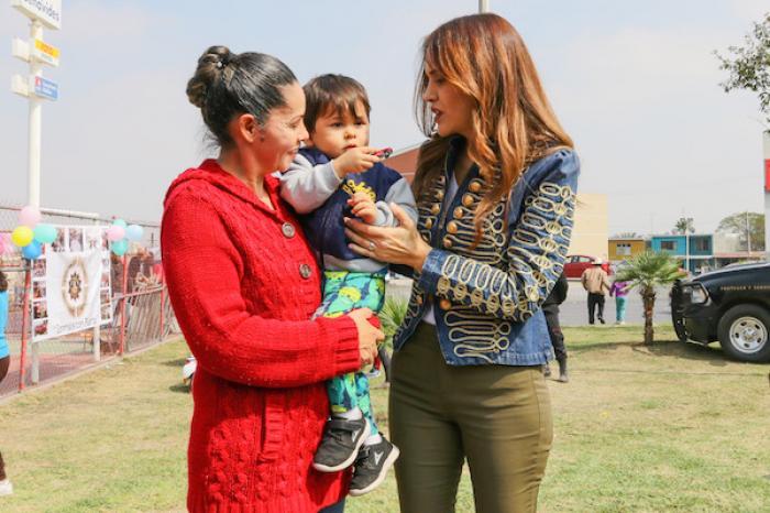 Atiende Escobedo Salud Infantil En Feria Sipinna