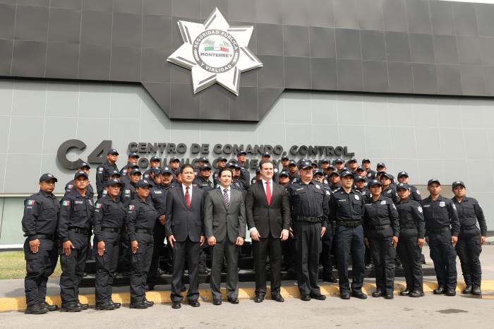 Se incorporan 50 nuevos elementos a Seguridad Pública de Monterrey
