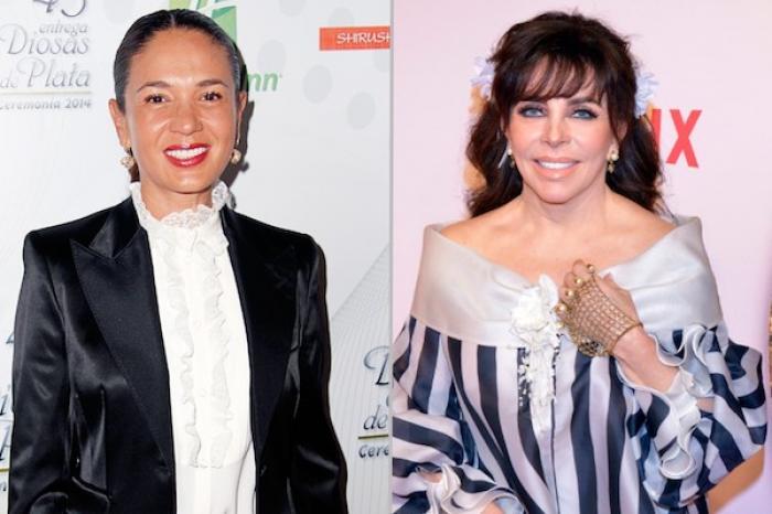 Yolanda Andrade espera hacer las paces con Verónica Castro