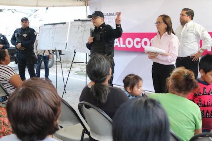 """Emprende Cristina Díaz """"Diálogos Comunitarios"""" Para Reducir Índices De Delincuencia"""