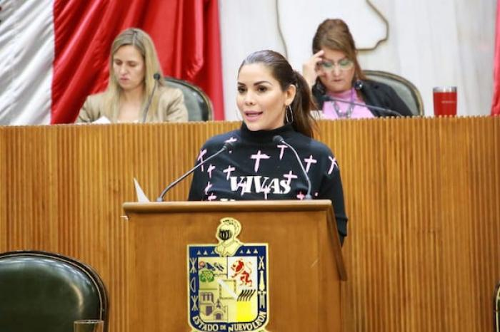 Llama Karina Barrón a empresas y dependencias a solidarizarse con movimiento #UnDíaSinNosotras
