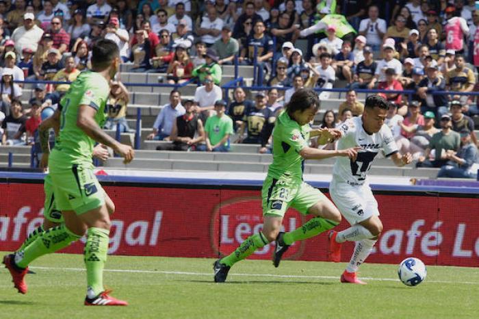 Pumas cae 1-2 ante Monarcas Morelia