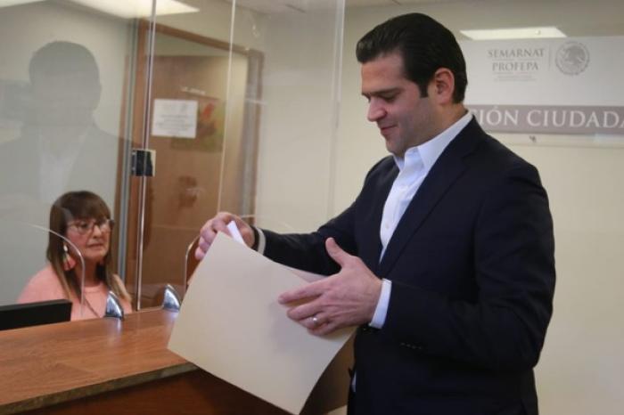 """Denuncian ante PROFEPA empresas señaladas en plataforma """"Aire Limpio Ya"""""""
