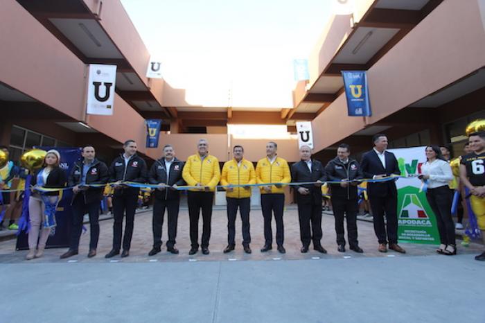 Inauguran Extensión De La Prepa 1 De La UANL
