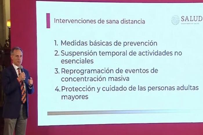 Sube a 41 casos de Covid-19 en México; hay 155 en observación