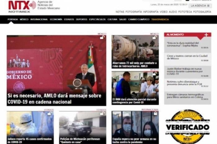Agencia de Noticias Notimex sufre ciberataque y presenta denuncia ante la FGR