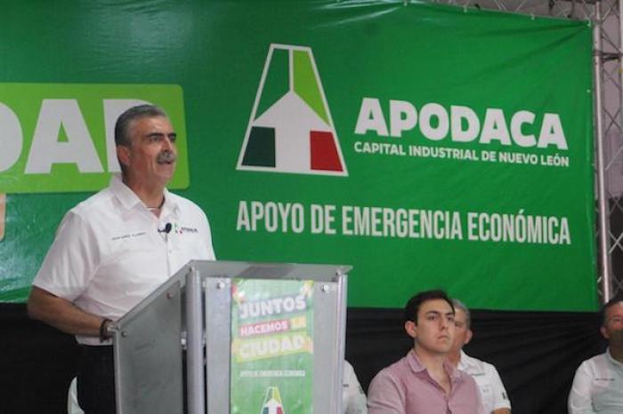 Inicia Apodaca programa de apoyos a familias y grupos vulnerables