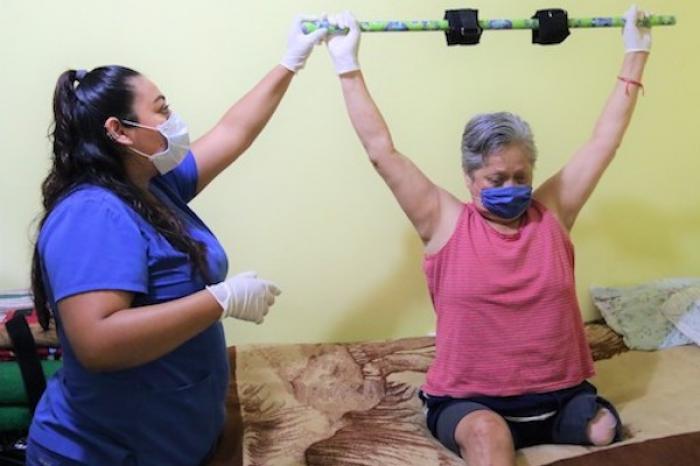 Ofrece Escobedo Sesiones De Fisioterapia A Domicilio En Grupos Vulnerables