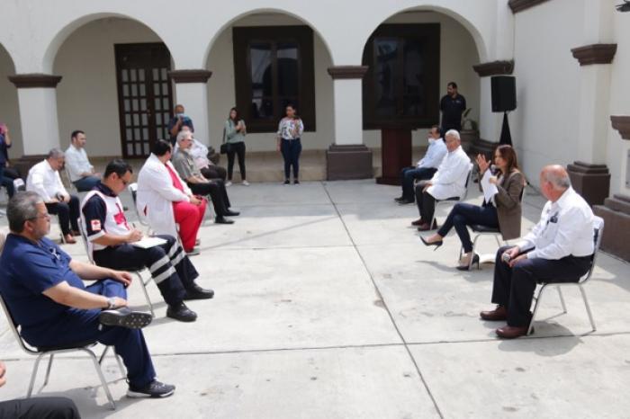 Instalan en Escobedo comité para enfrentar coronavirus