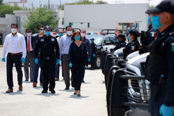 Fortalece Cristina Díaz Seguridad; Entrega 21 Nuevas Patrullas