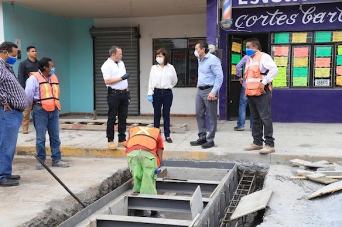 Aprovecha Cristina Díaz Contingencia Por Coronavirus Y Avanzan Obras En Guadalupe
