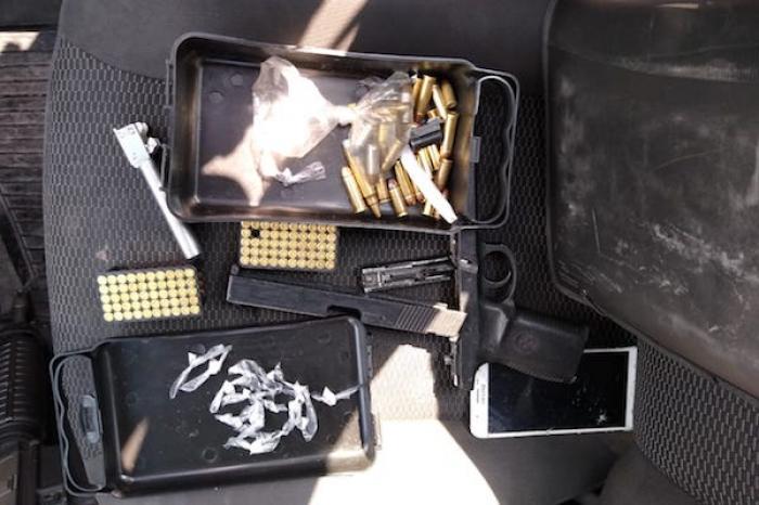 D.G.I. Detiene A Jóvenes Con Armas, Cartuchos Y Cocaína