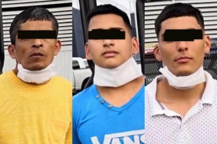 Dos hombres y un menor son detenidos por portación de arma de fuego
