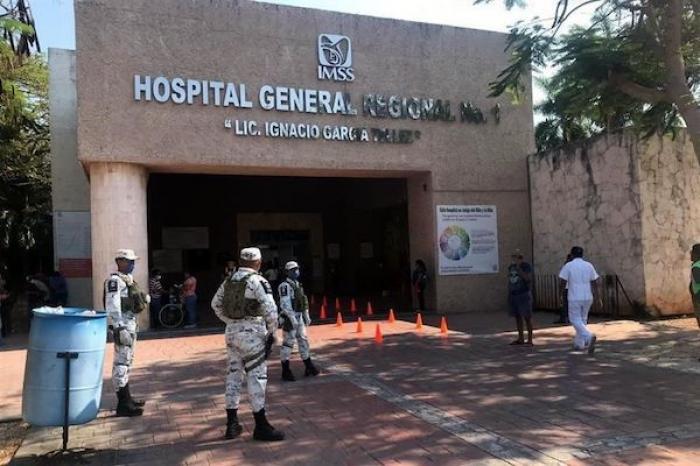 Despliegan seguridad para cuidar a médicos del IMSS e ISSSTE