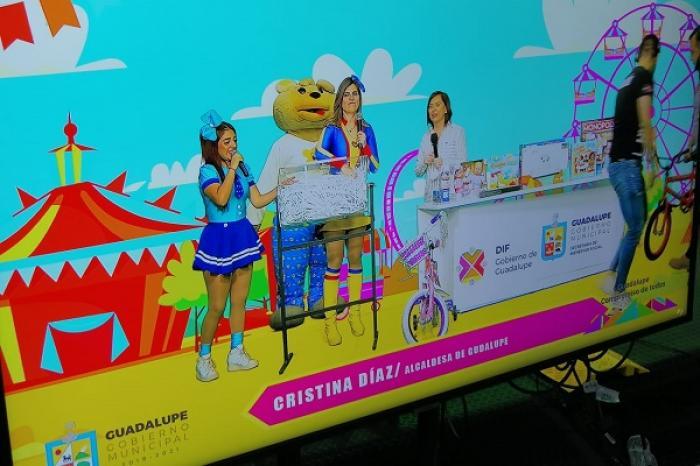 Tienen Más De 6 Mil Niños De Guadalupe Festejo Virtual Con La Alcaldesa Cristina Díaz