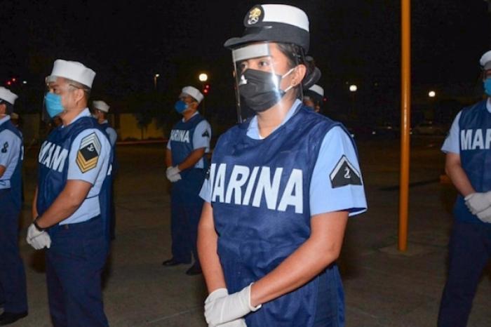 Marina apoya en atención sanitaria y seguridad por pandemia
