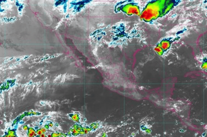 Pronostican lluvias fuertes, granizadas y probables tornados al norte de México