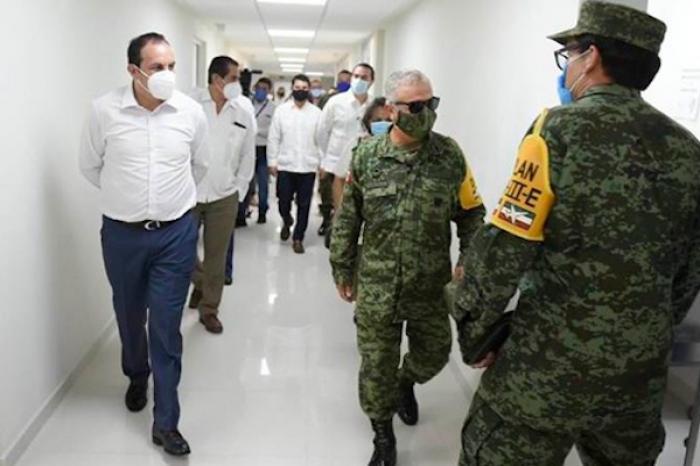 Sedena habilita cuatro hospitales en Morelos para atender COVID-19
