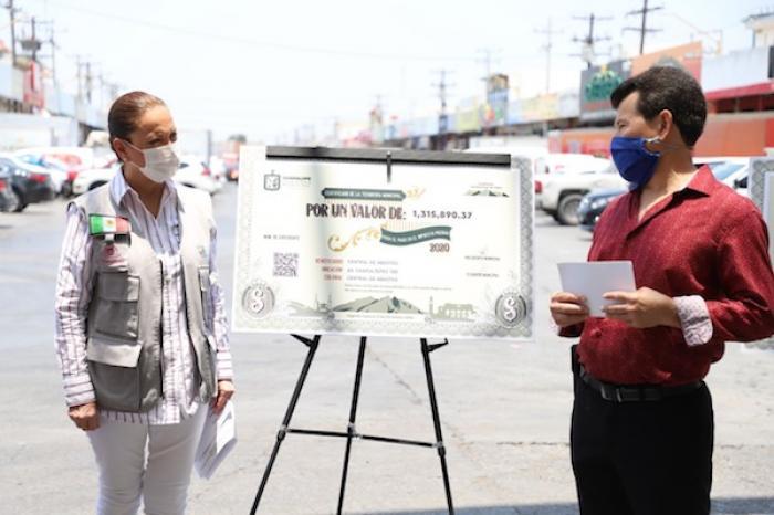 Más de 20 mil comerciantes de Guadalupe serán los beneficiados con descuentos en impuestos