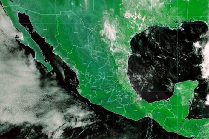 Prevén lluvias fuertes con descargas eléctricas en territorio nacional