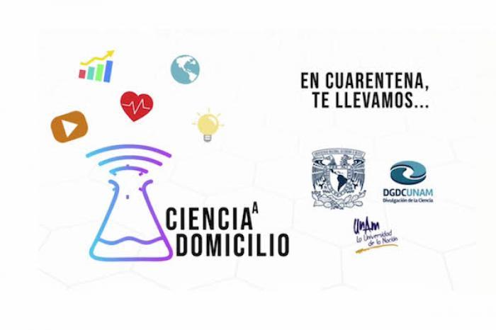Invita la UNAM a vivir la ciencia sin salir de casa