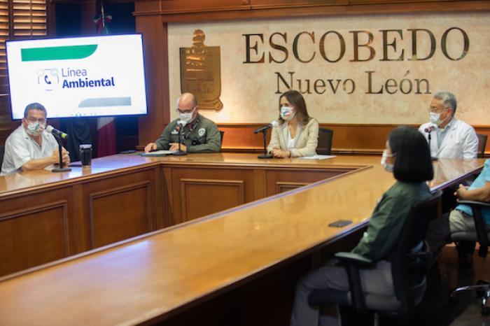 Activa Escobedo Línea Ambiental Para Atender Reportes Sobre Desechos Covid-19
