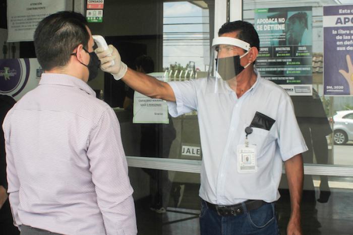 Garantiza Apodaca protocolos sanitarios para atender ciudadanos