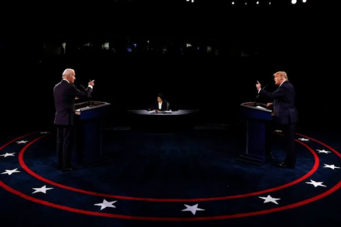 Tras debate final Joe Biden puntea en encuestas