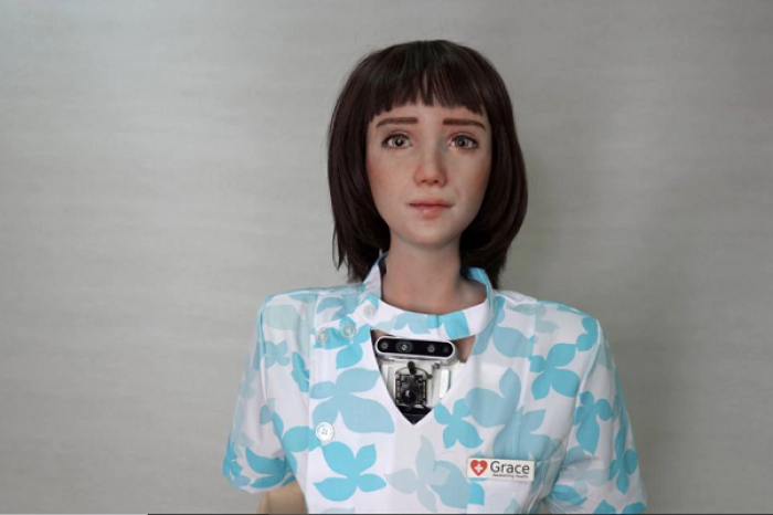 Grace, la robot humanoide para atender a pacientes con Covid-19